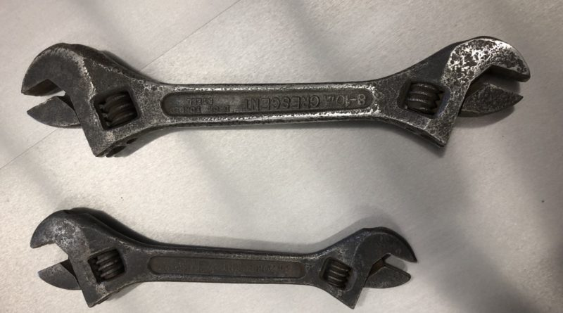 Vintage Crescent Adjustable Wrenches  0672 800x445 - Miscellaneous Auction Items
