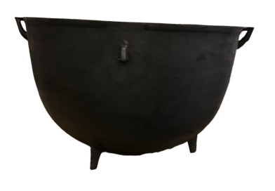 Large Cast Iron Cauldron