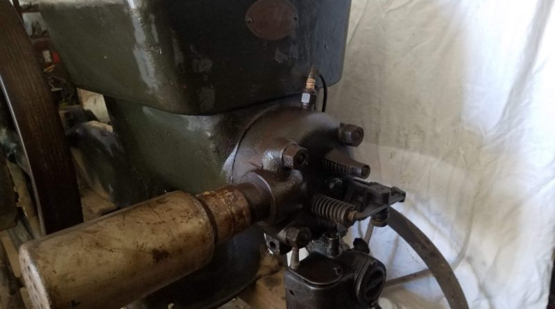 hit miss gas engine 20190305 163632 800x445 - Old Hit & Miss Gas Engine from Historic Elyria, KS Elevator